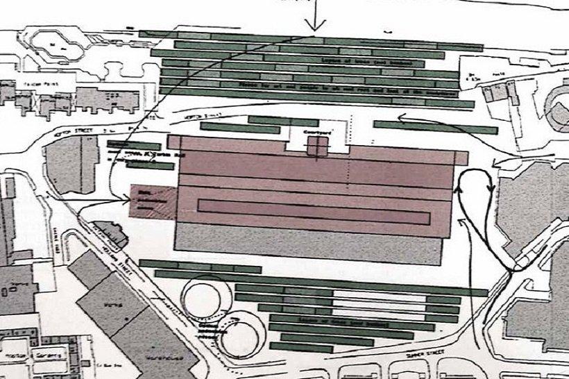 Herzog y de Meuron, Tate Modern, propuesta de espacios exteriores