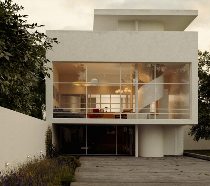 Le Corbusier, Casa Julian Martinez
