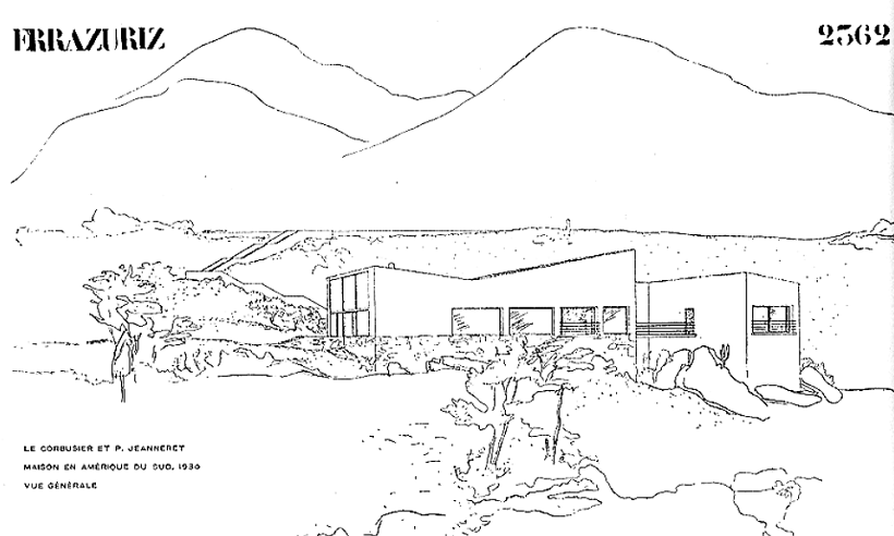 Le Corbusier, casa Errázuriz