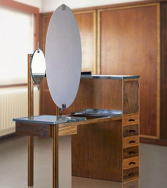 Marcel Breuer, Bauhaus, mobiliario dormitorios femeninos, 1923, tecnne