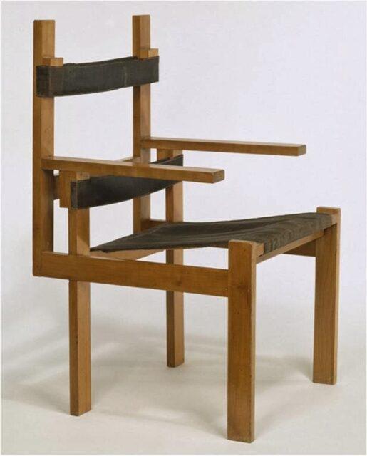 Marcel Breuer TT1a Chair, 1922, tecnne