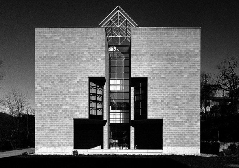 Mario Botta, Casa a Pregassona, tecnne ©Alo Zanetta.