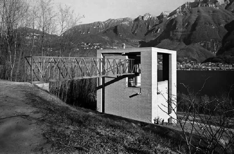 Mario Botta, Casa a Riva San Vitale, tecnne © Alo Zanetta.