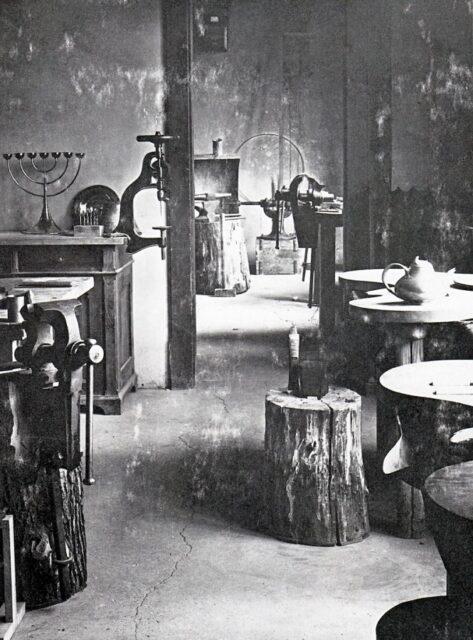 Bauhaus Weimar, talleres, tecnne