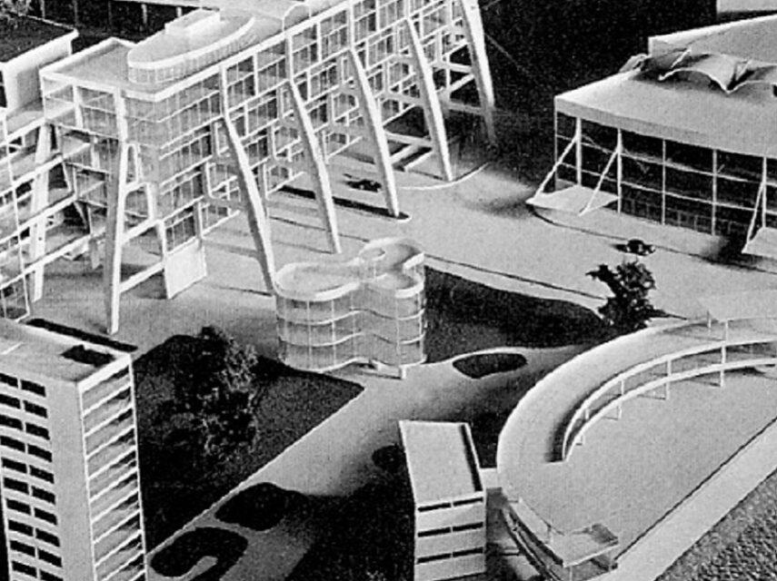 Marcel Breuer, Garden City of the future, conjunto, tecnne