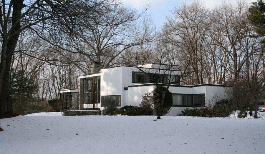 Marcel Breuer, Breuer House 1, Lincoln, 1939, tecnne