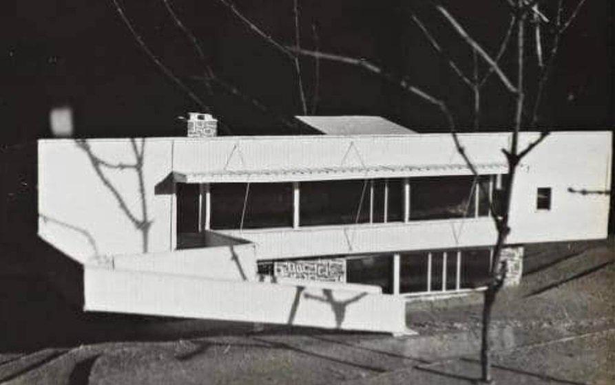 Marcel Breuer, Casa Martire, 1946, tecnne