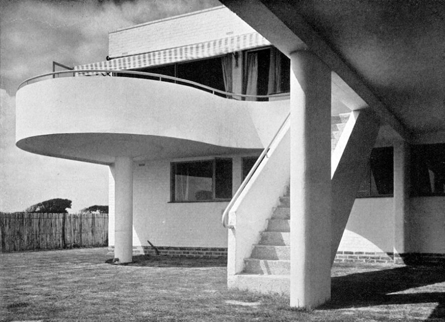 Marcel Breuer, Casa Macbeth, tecnne
