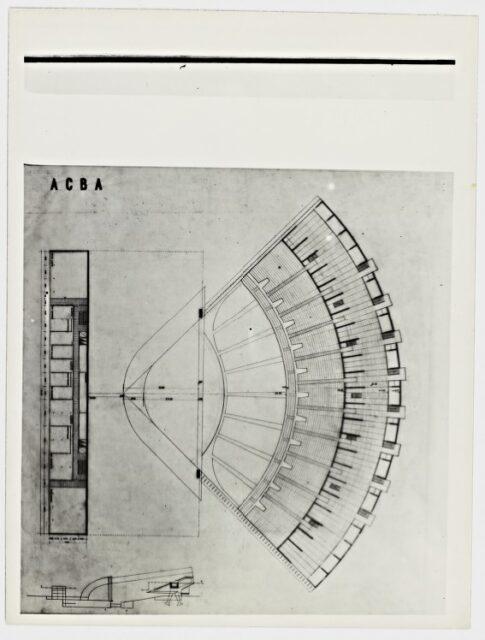 Eduardo Catalano, Auditorium Ciudad de Buenos Aires 1947, tecnne.