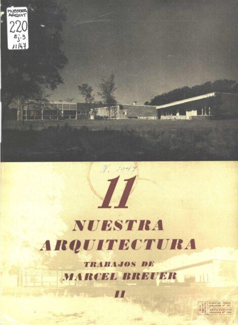Nuestra Arquitectura, Noviembre de 1947, tecnne