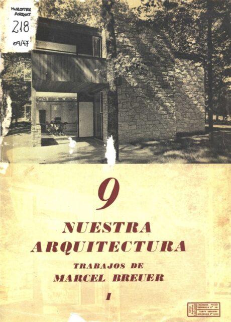 Nuestra Arquitectura, Septiembre de 1947, tecnne