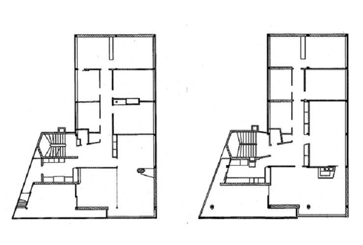 Marcel Breuer, Doldertal Houses, 1933, tecnne