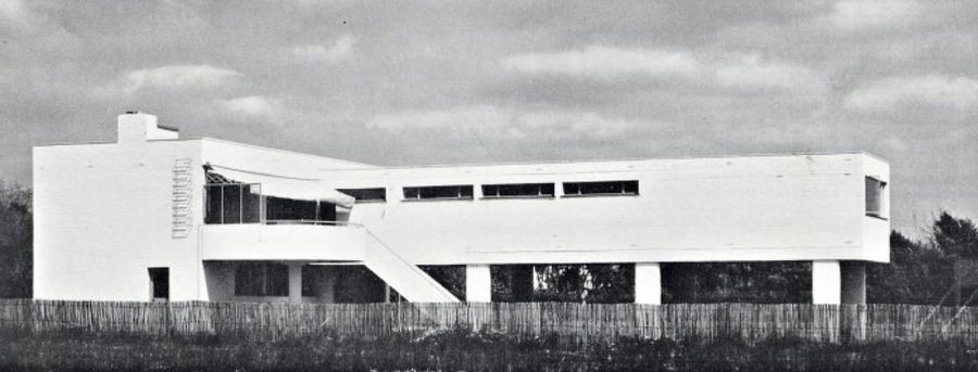 Marcel Breuer, MacNabb House, 1936, tecnne