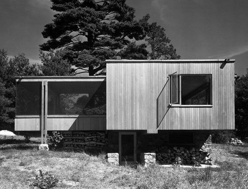 Marcel Breuer, Chamberlain Cottage, 1940, tecnne