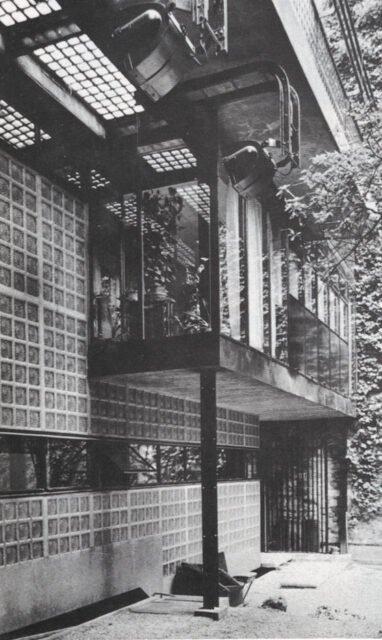 Bernard Bijvoet, Pierre Chareau, Maison de Verre, tecnne