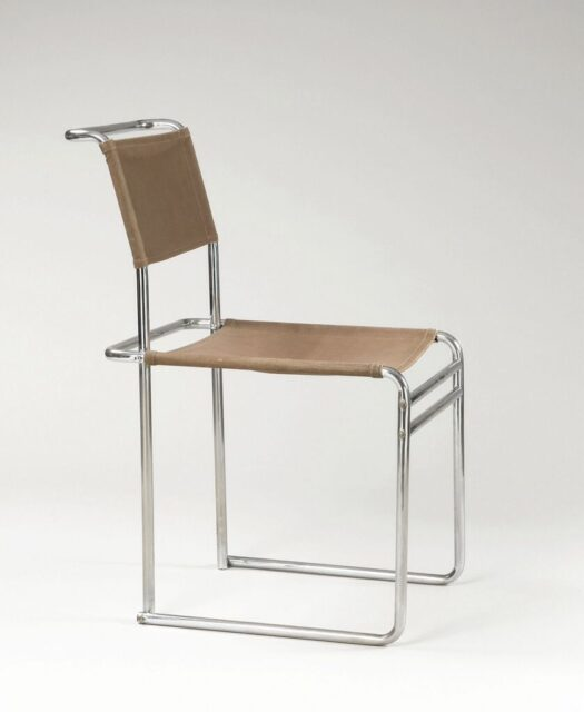 Marcel Breuer, Side Chair, 1926, tecnne