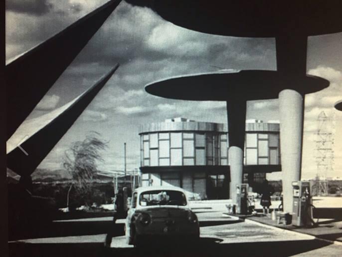 """Estación """"El Rebollet"""" Cafetería, Juan Haro de Piñar, 1962©Fundación Goerlich"""