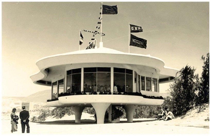 Maurice Bassières y Emile Duhon, Restaurante La Réserve, Marruecos, 1953