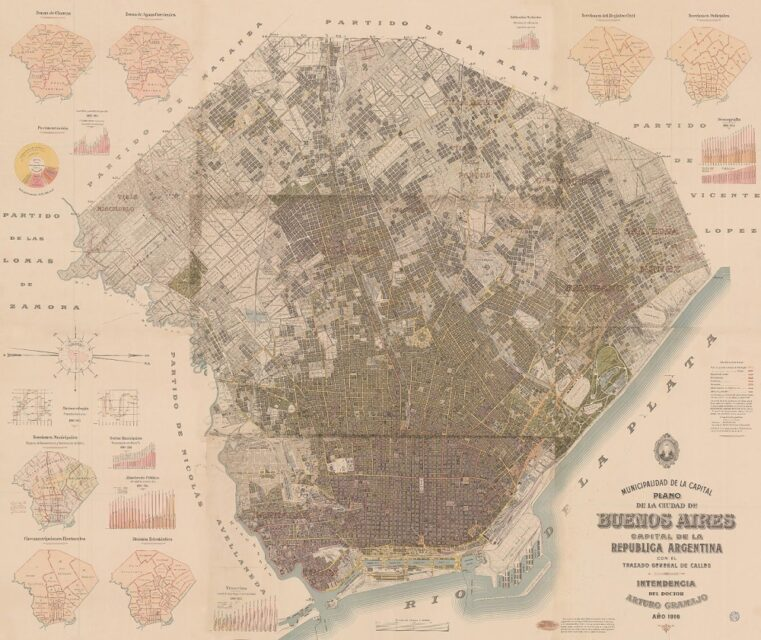 Buenos Aires, 1916, tecnne