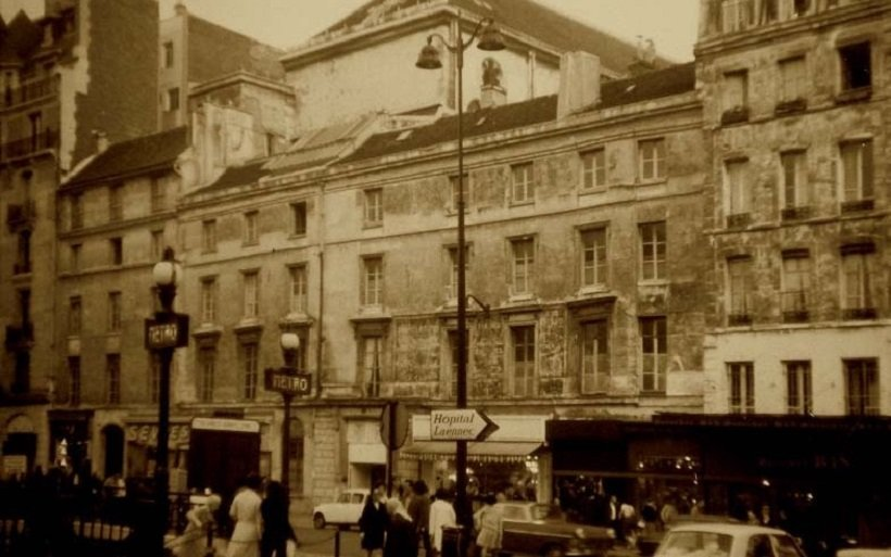 35 Rue de sevres 1950 Archivo St Ignace, tecnne