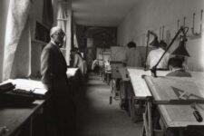Le Corbusier, Atelier 35s 1946, tecnne