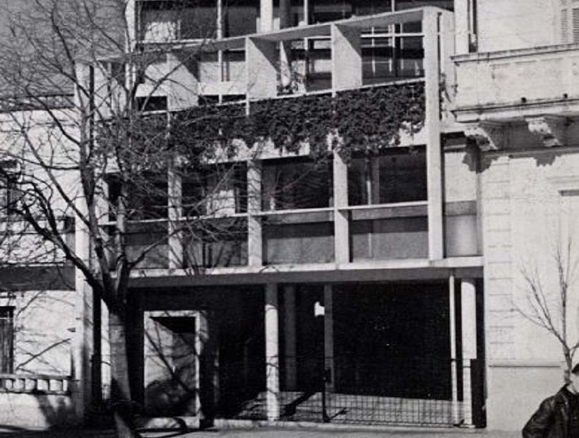 Casa Curutchet, tecnne