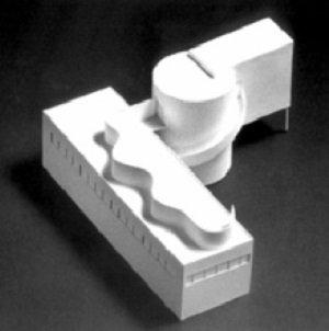 Le Corbusier, Villa Savoye, esquema preliminar